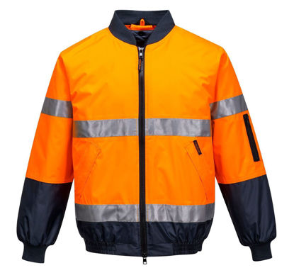 Picture of HI-VIS BOMBER JACKET WITH TAPE