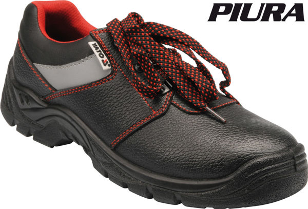 Picture of LOW-CUT SAFETY SHOES EUROPEAN SIZE 43 BLACK